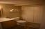 in the downstairs bedroom nice 3/4 bath