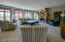 plush carpet, gas fireplace,wall of windows
