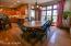 wood flooring, door to 3 season porch