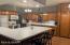 Huge kitchen! With large peninsula!