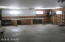 Interior of garage closest to the home