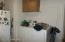 Main Floor laundry - in kitchen