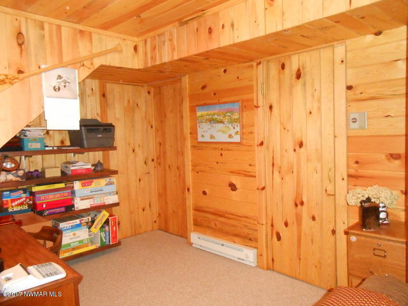 Cedar Closet located in lower level