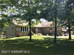 Beautifully landscaped with total privacy. Heavily wooded
