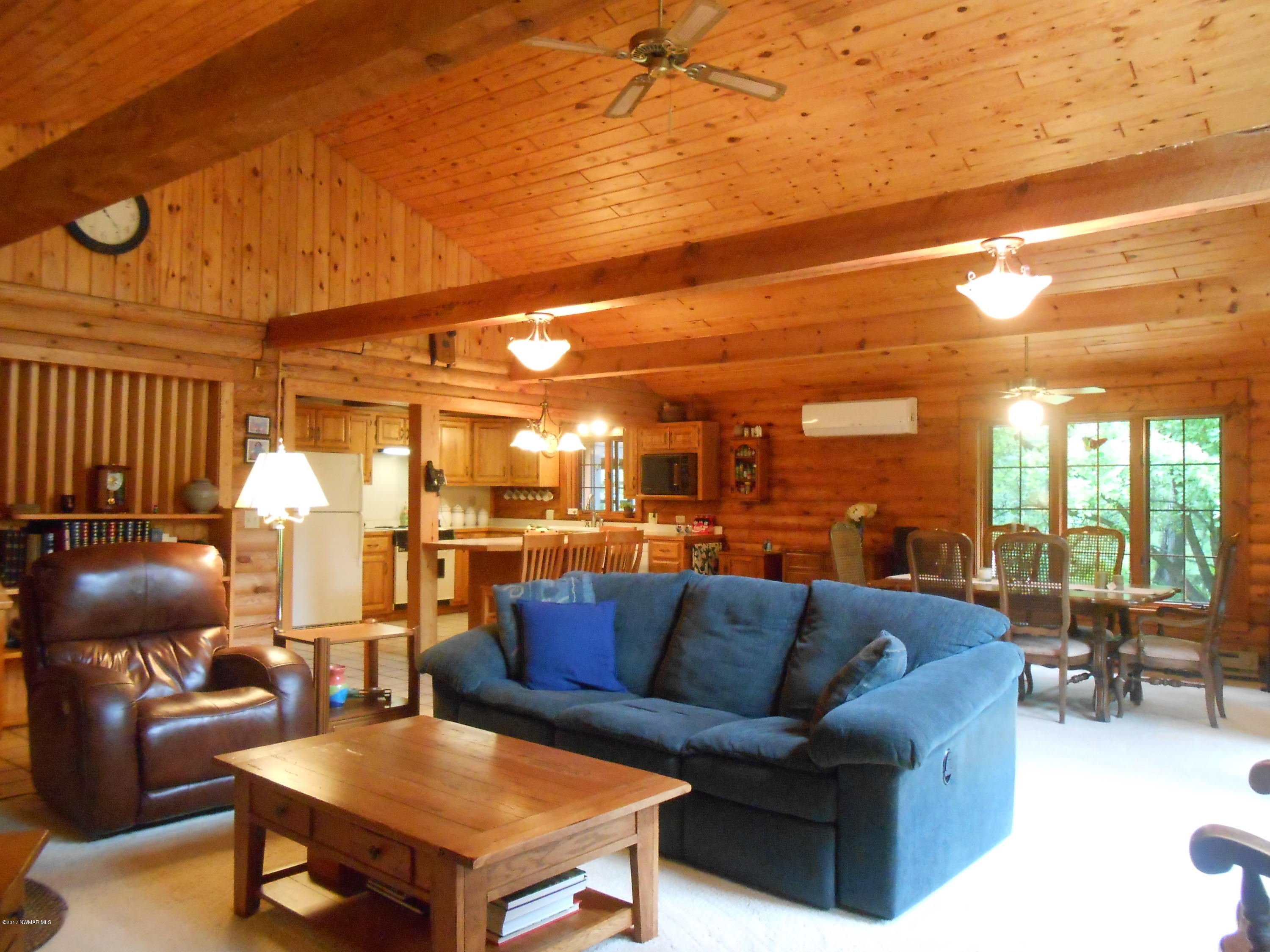 Treasure living in this log home!