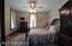 2nd floor bedroom w/ balcony
