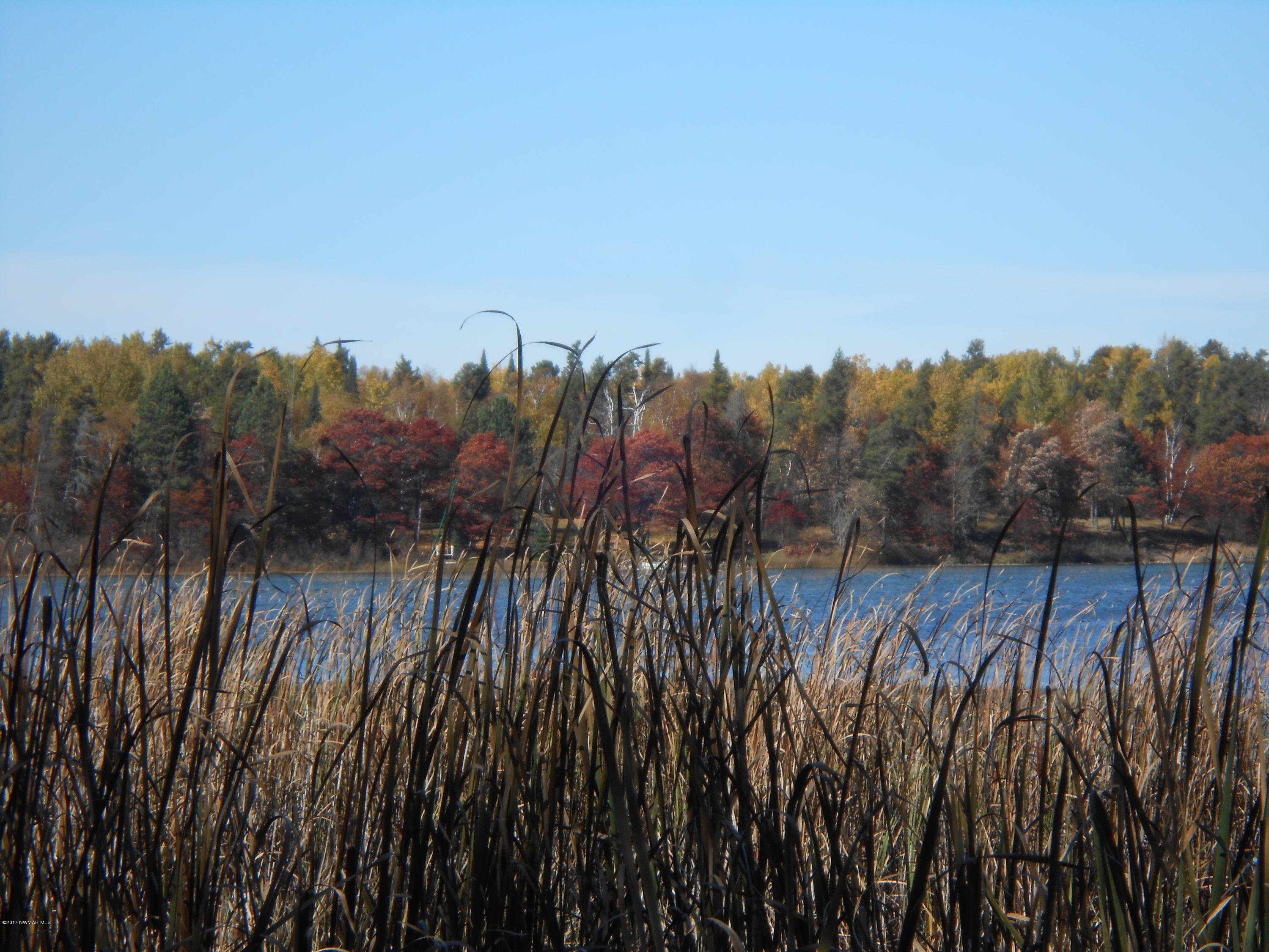 Paine Lake in the fall