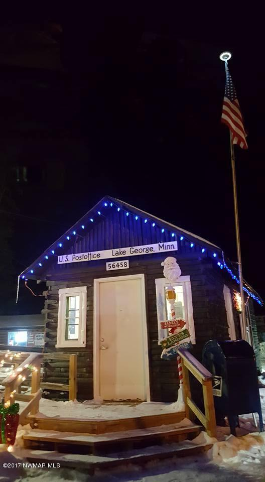 MN smallest Post Office in Lake George