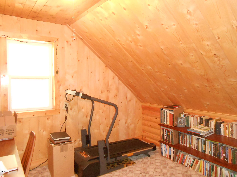 Bedroom used as office