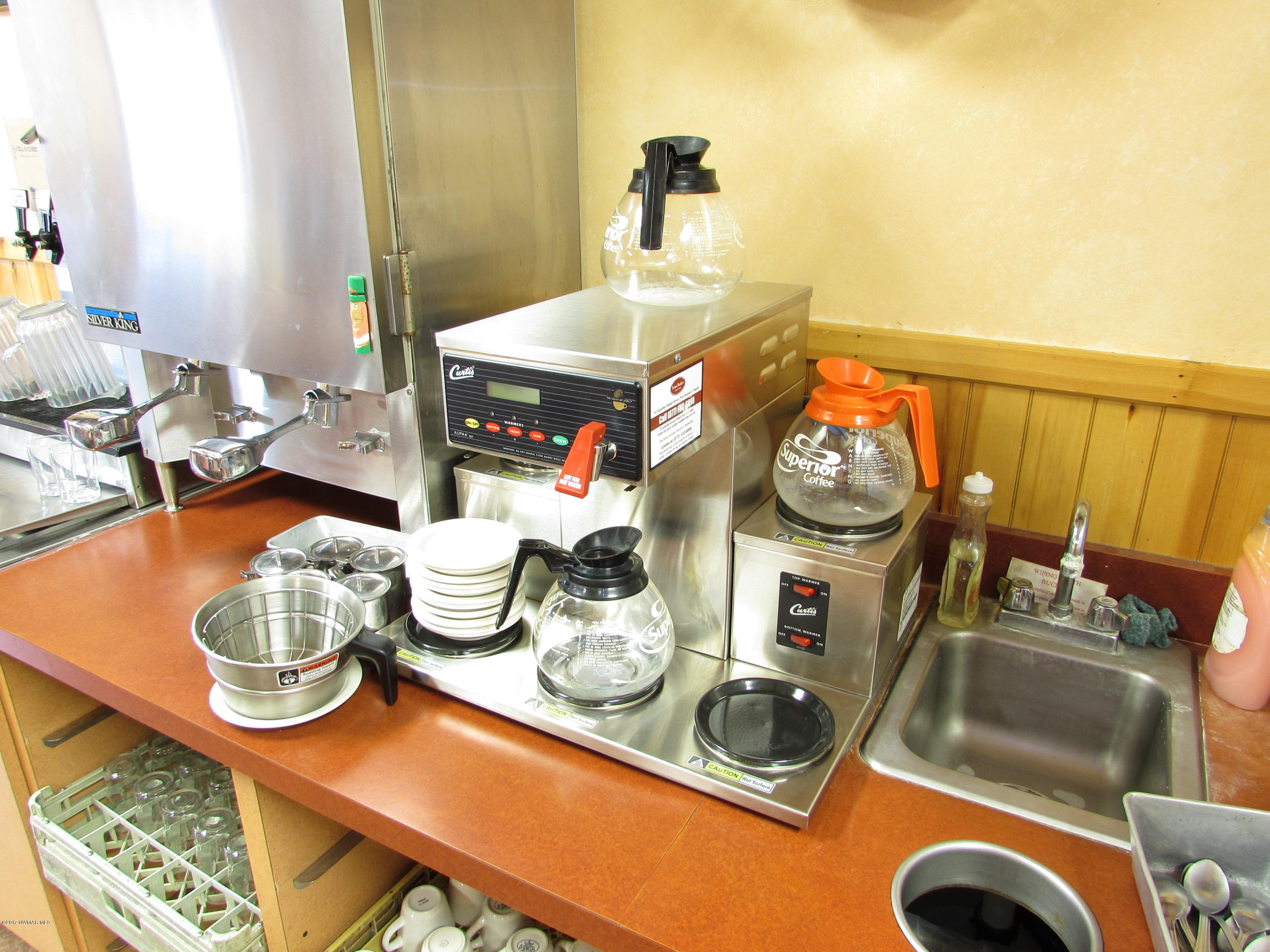 Coffee Brewing Station