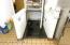 Basement Access - Paper Products Storage/Fountain Pop Dispensers, Etc.