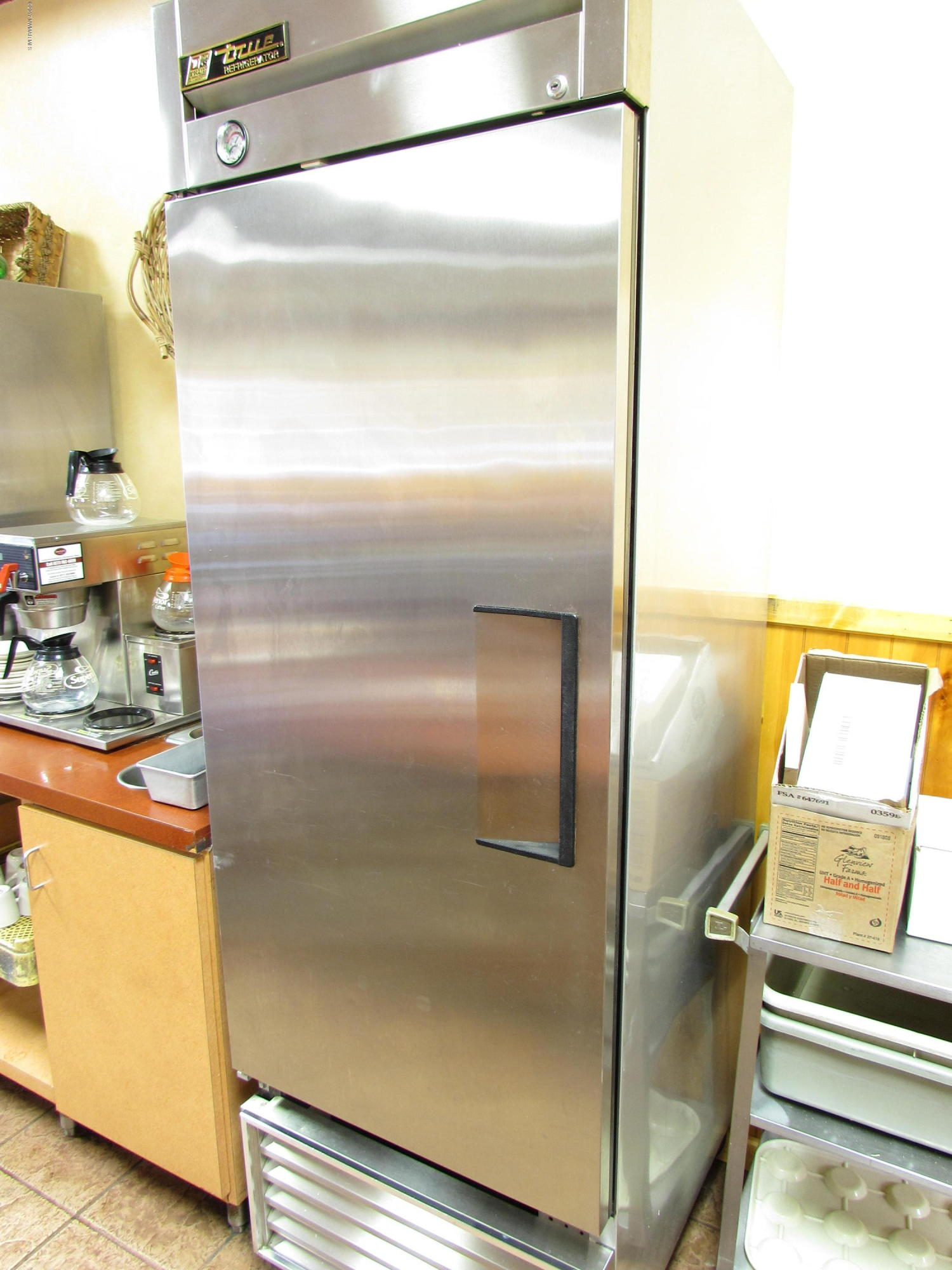 Upright Condiment Refrigerator - View 1