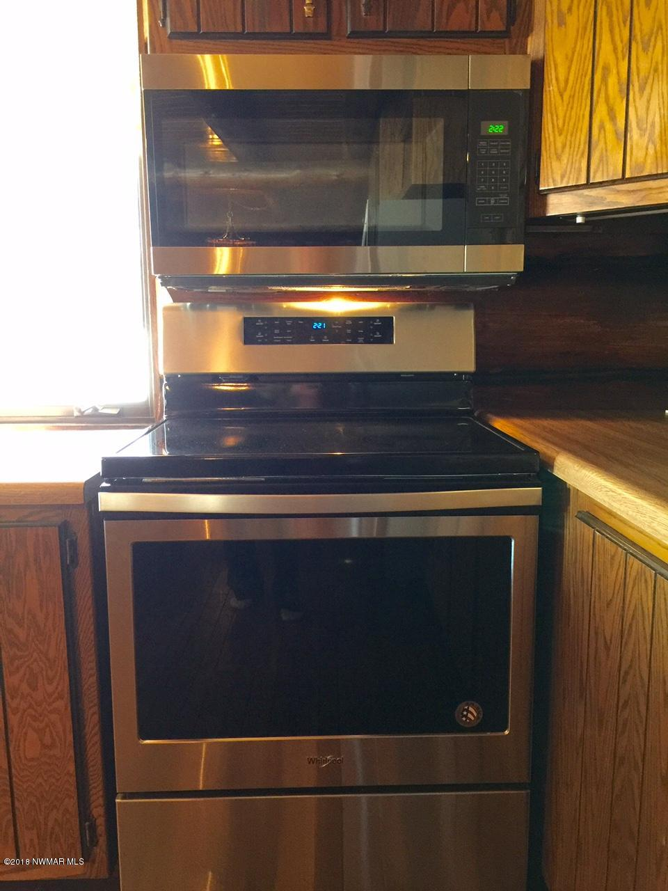 Brand new stainless appliances!