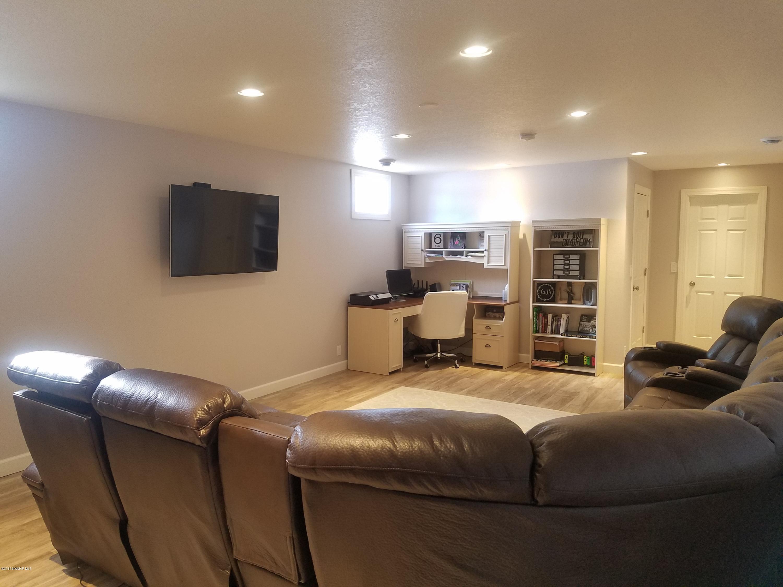 Basement Living Room - View 1