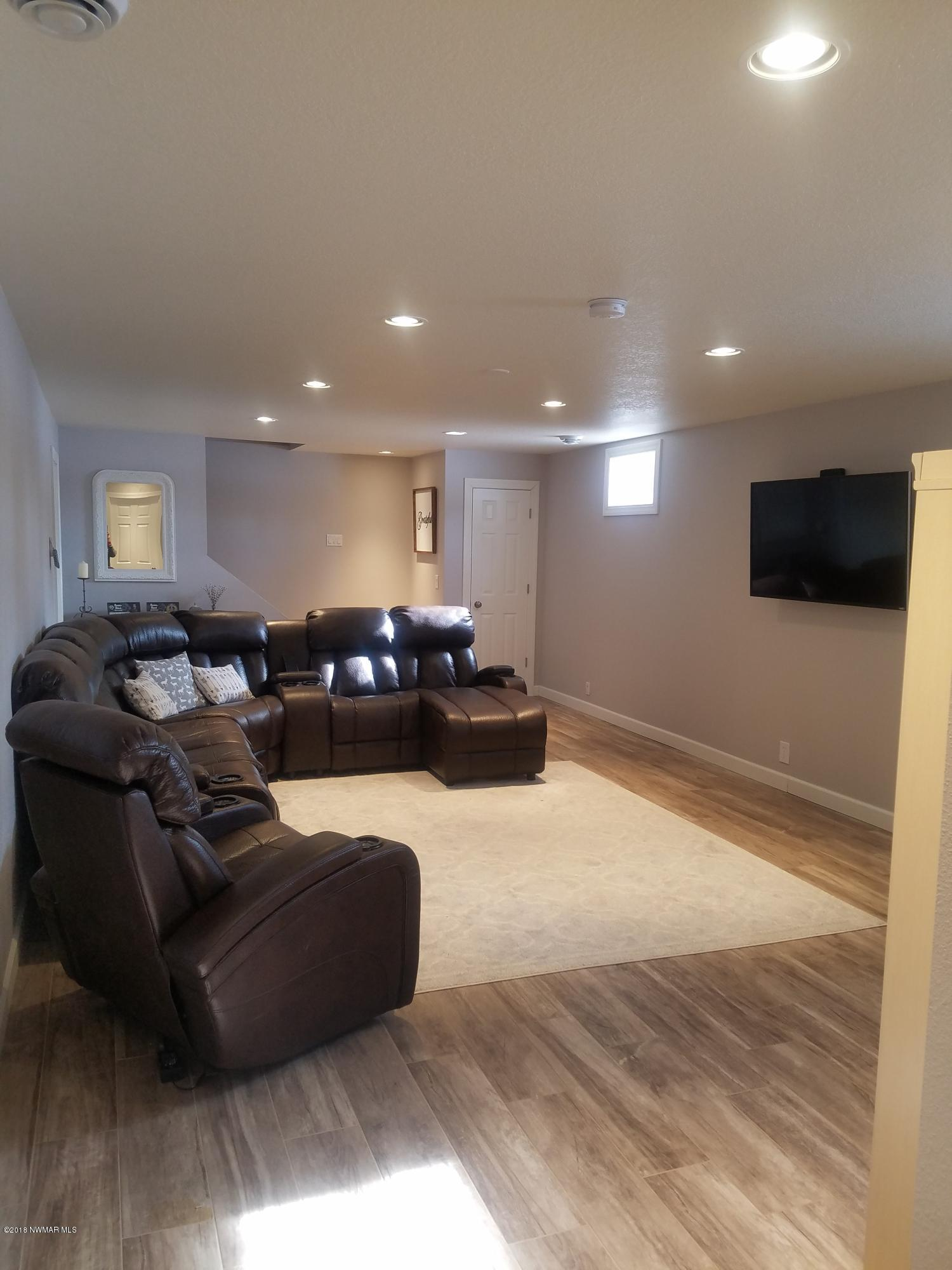 Basement Living Room - View 2