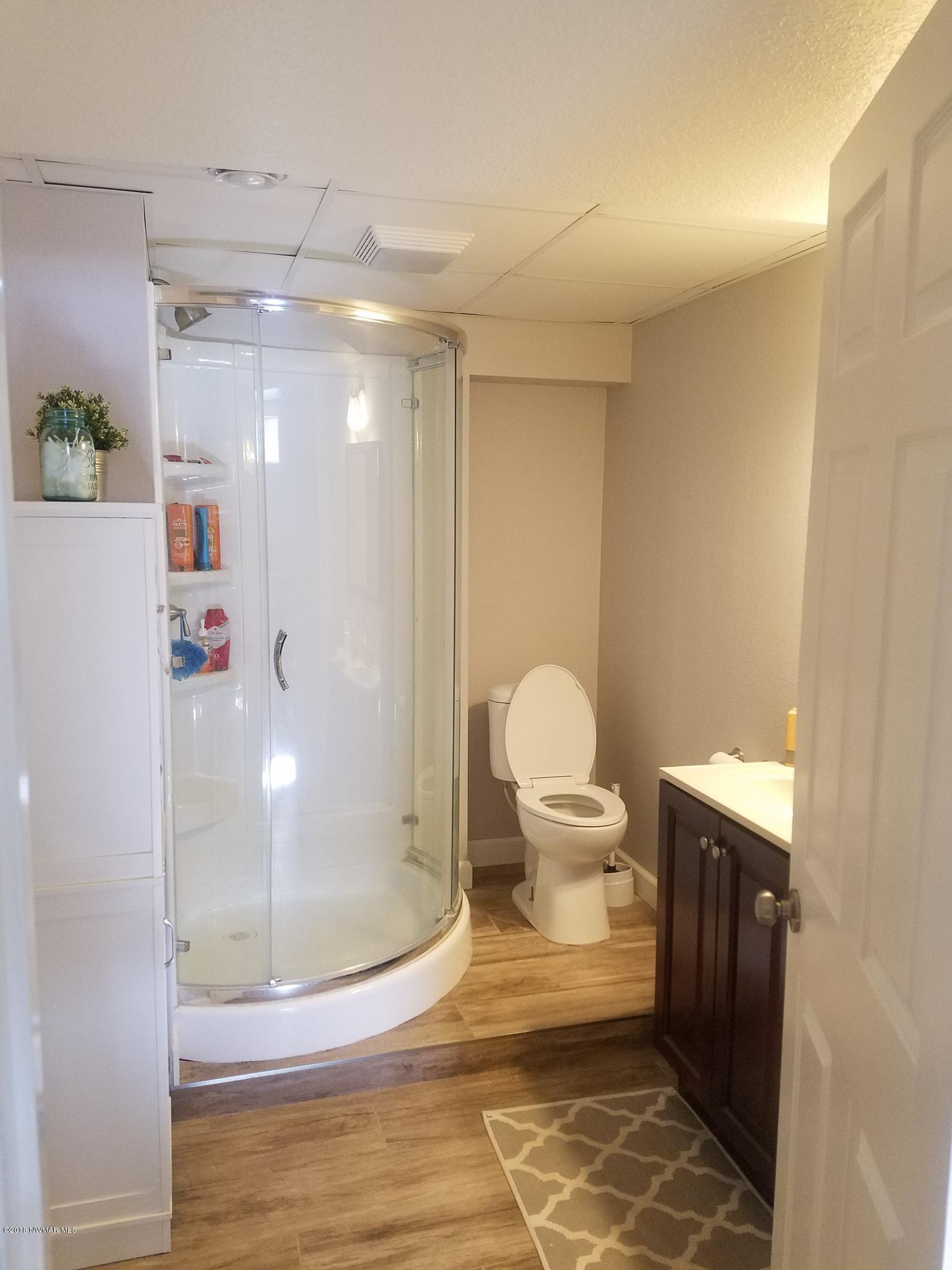 Basement Bathroom - View 1