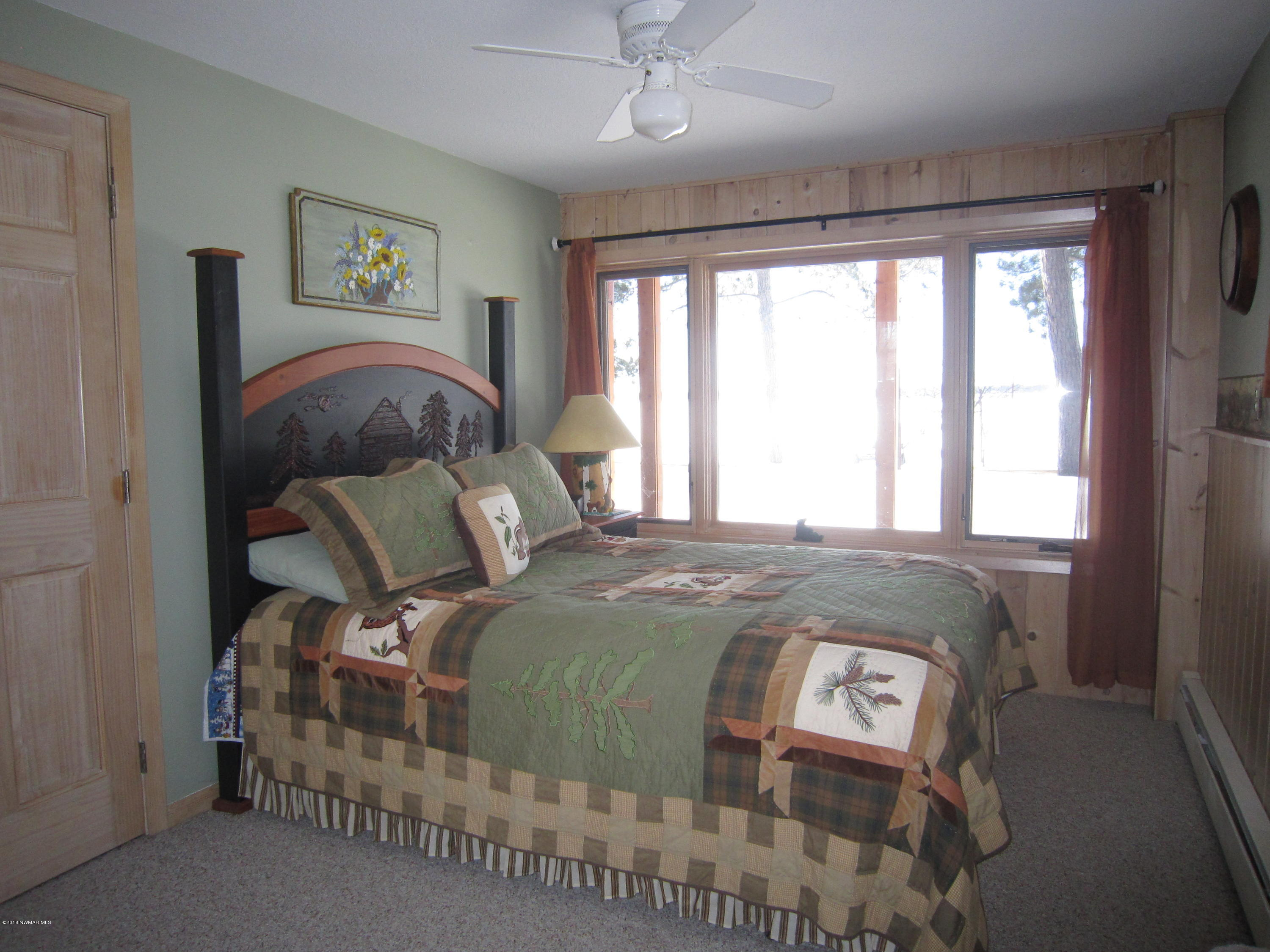 LL bedroom with lakeview