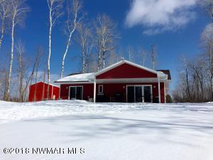 Home/shop built by local reputable contractor Gary Larson with Baudette Builders