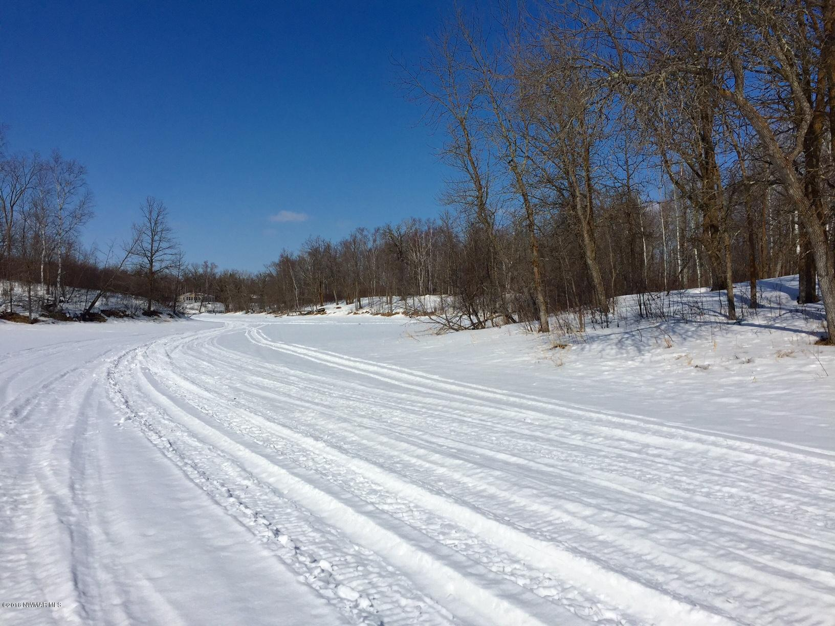 Great snowmobiling access to 1000's of trails