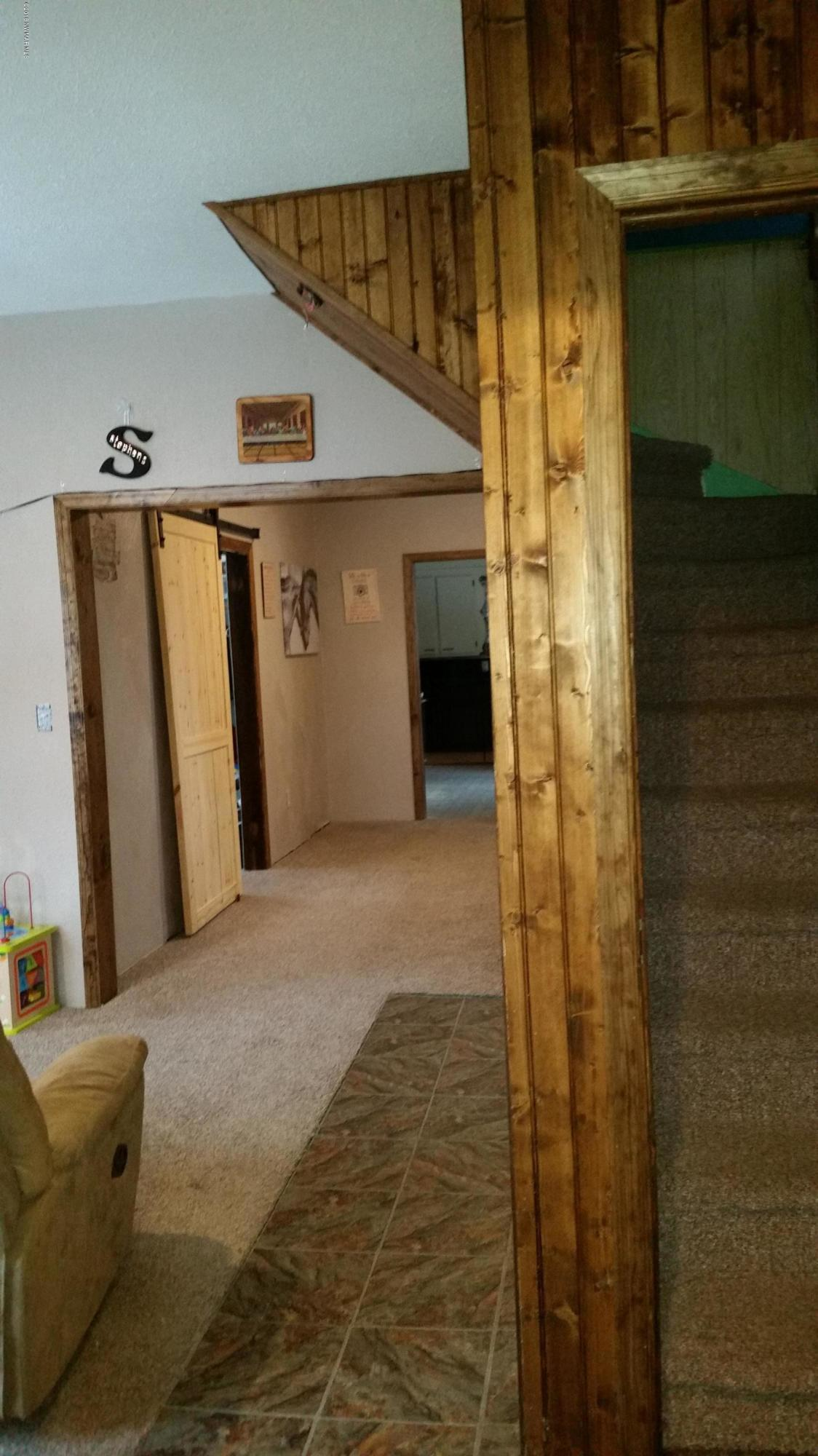 A look inside from the front entry.