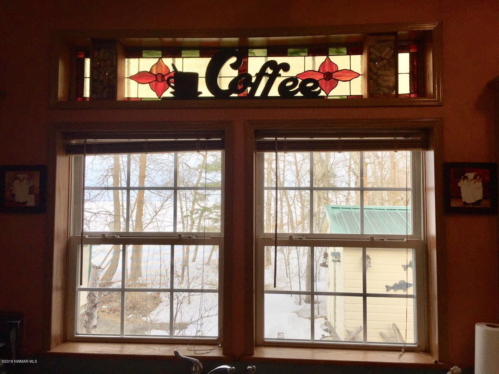 Window over the kitchen sink