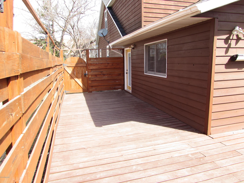 Wood Deck - View 2
