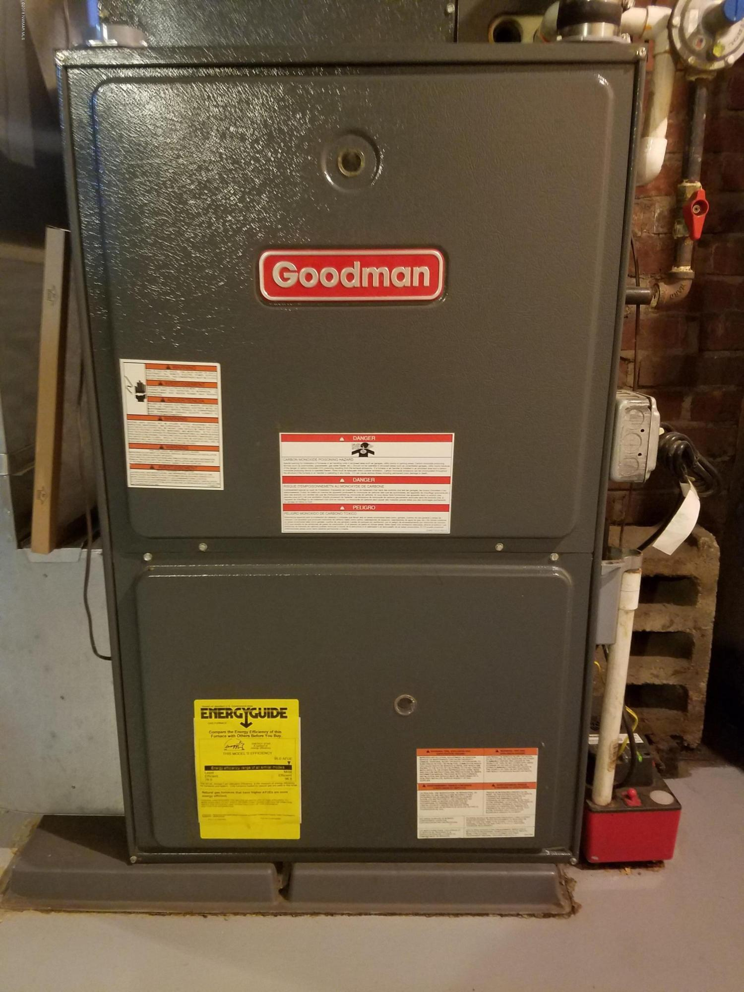 Goodman High-Efficiency Gas Forced-Air Furnace