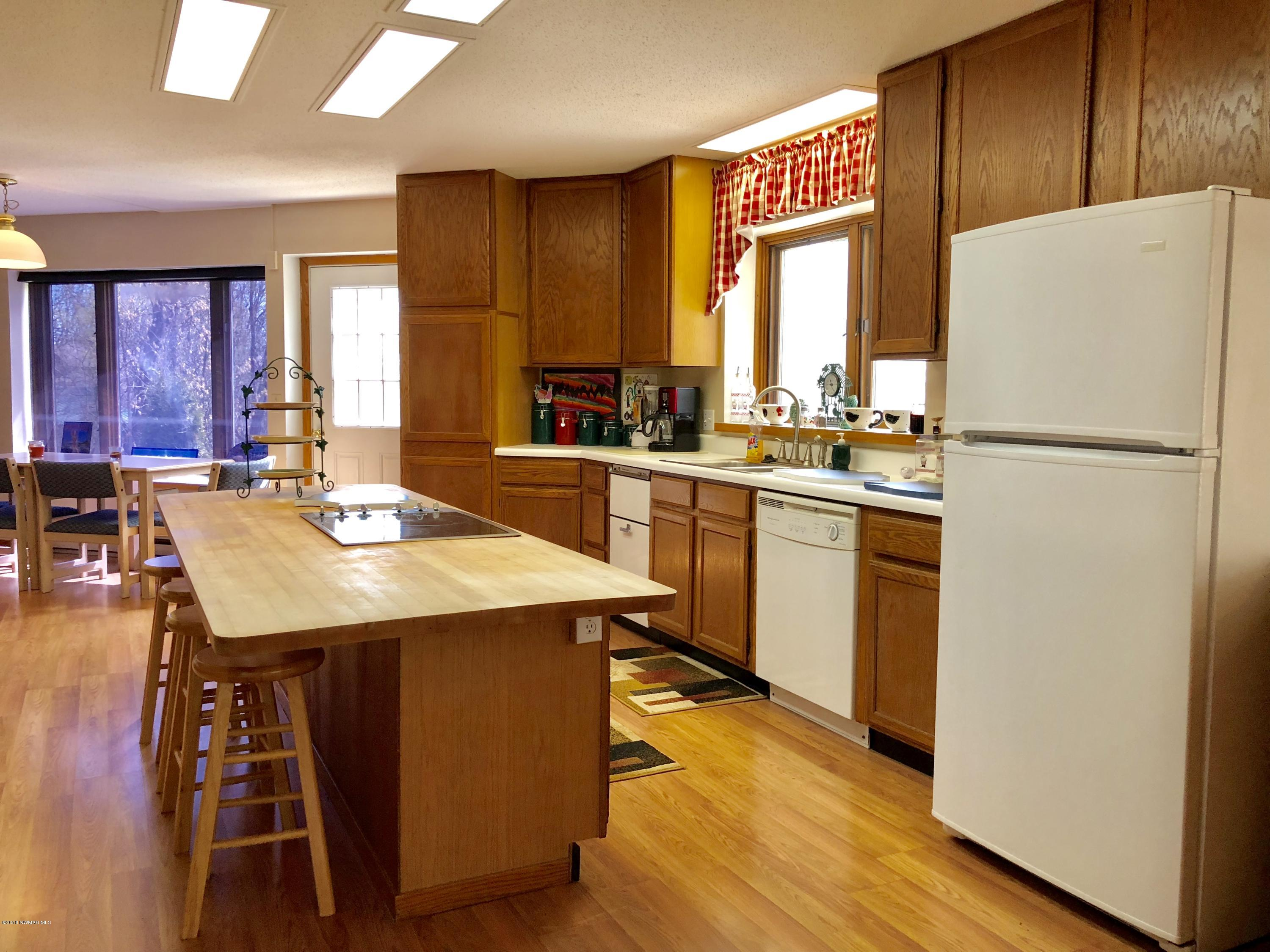 Plenty of storage throughout the kitchen and home