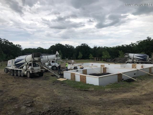 Walls being poured!