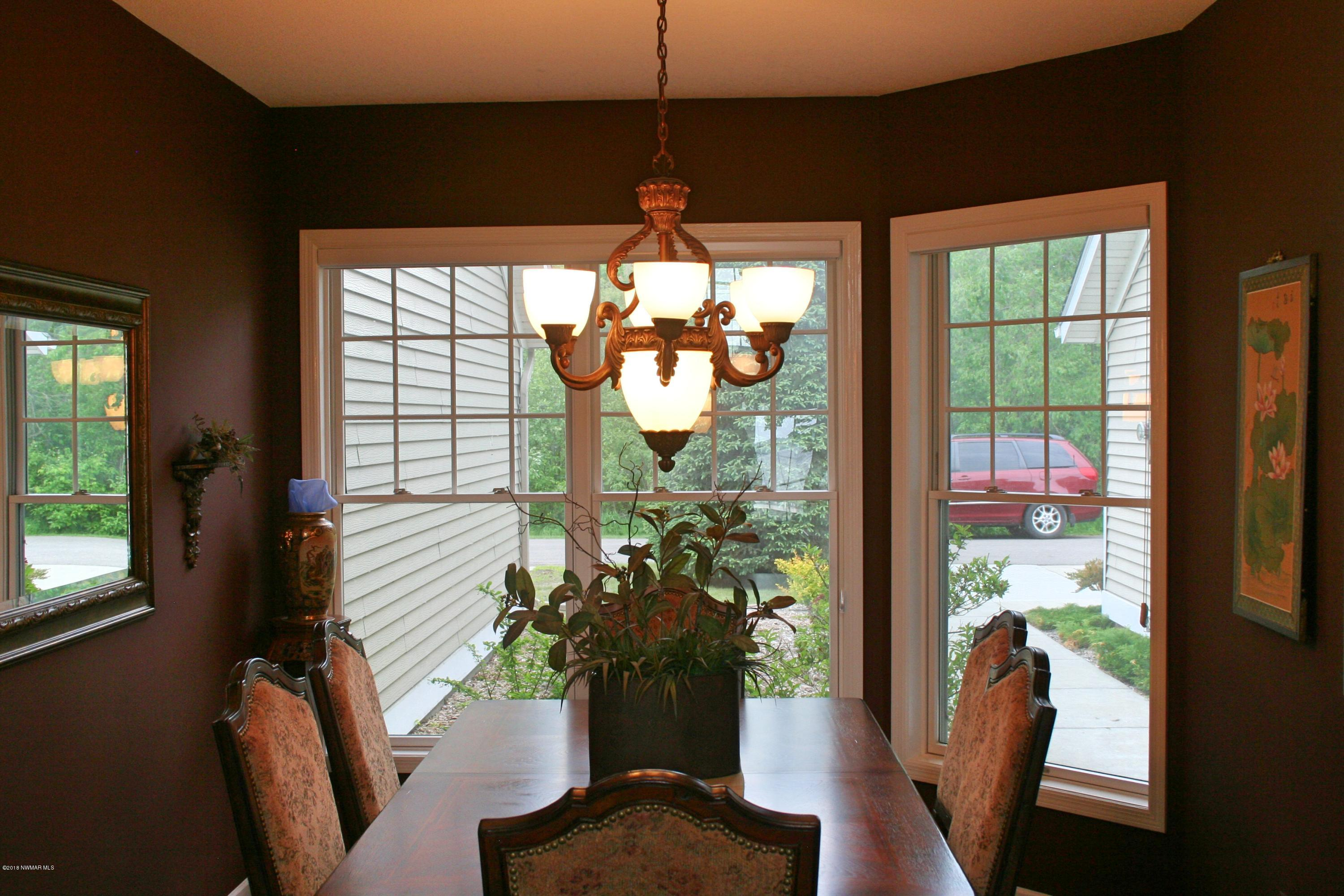Formal Dining Area just off Kitchen