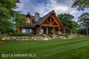 Hiawatha Custom Log Home