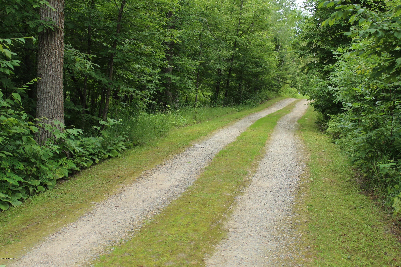 Driveway from Stump Lake Drive