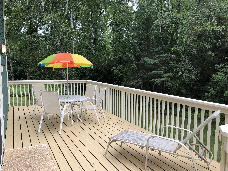 Enjoy sitting on your deck and gazing upon Lake Bemidji
