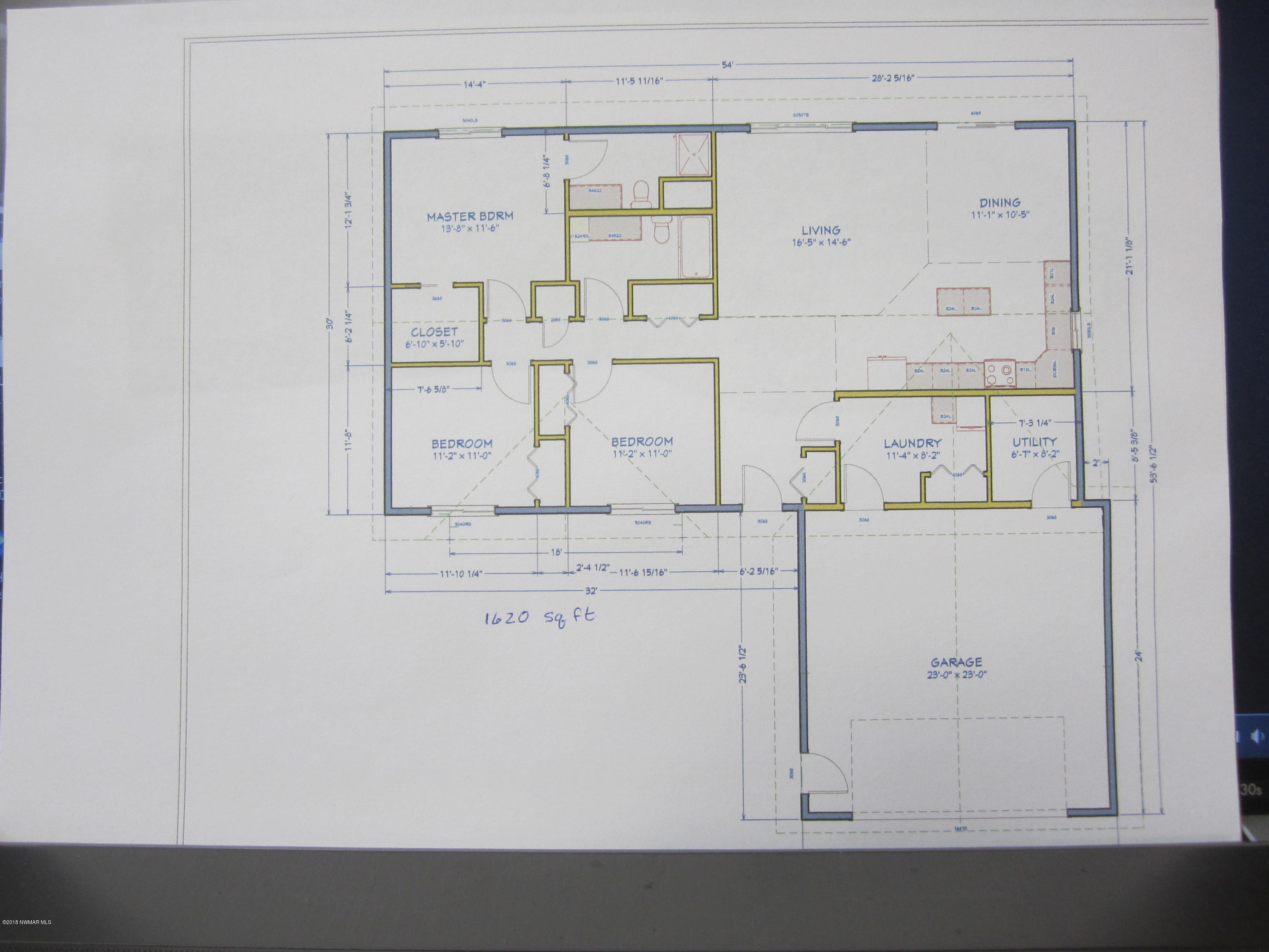 1620 Sq. Ft. plus attached garage. All with in-floor heat!