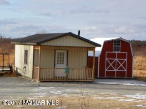 Cabin and Storage shed
