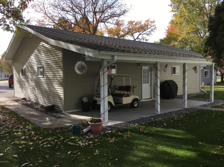 Back of garage