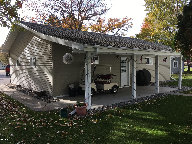 Back side of garage towards house