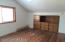 The floors in this bedroom still need some work but can easily be repaired back to like original conditions like the rest of the home.