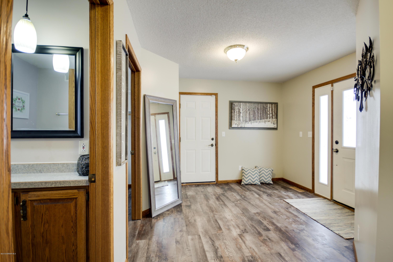 Foyer, front door