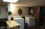 Washer, dryer basement