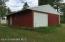 Garage portion of Red shed