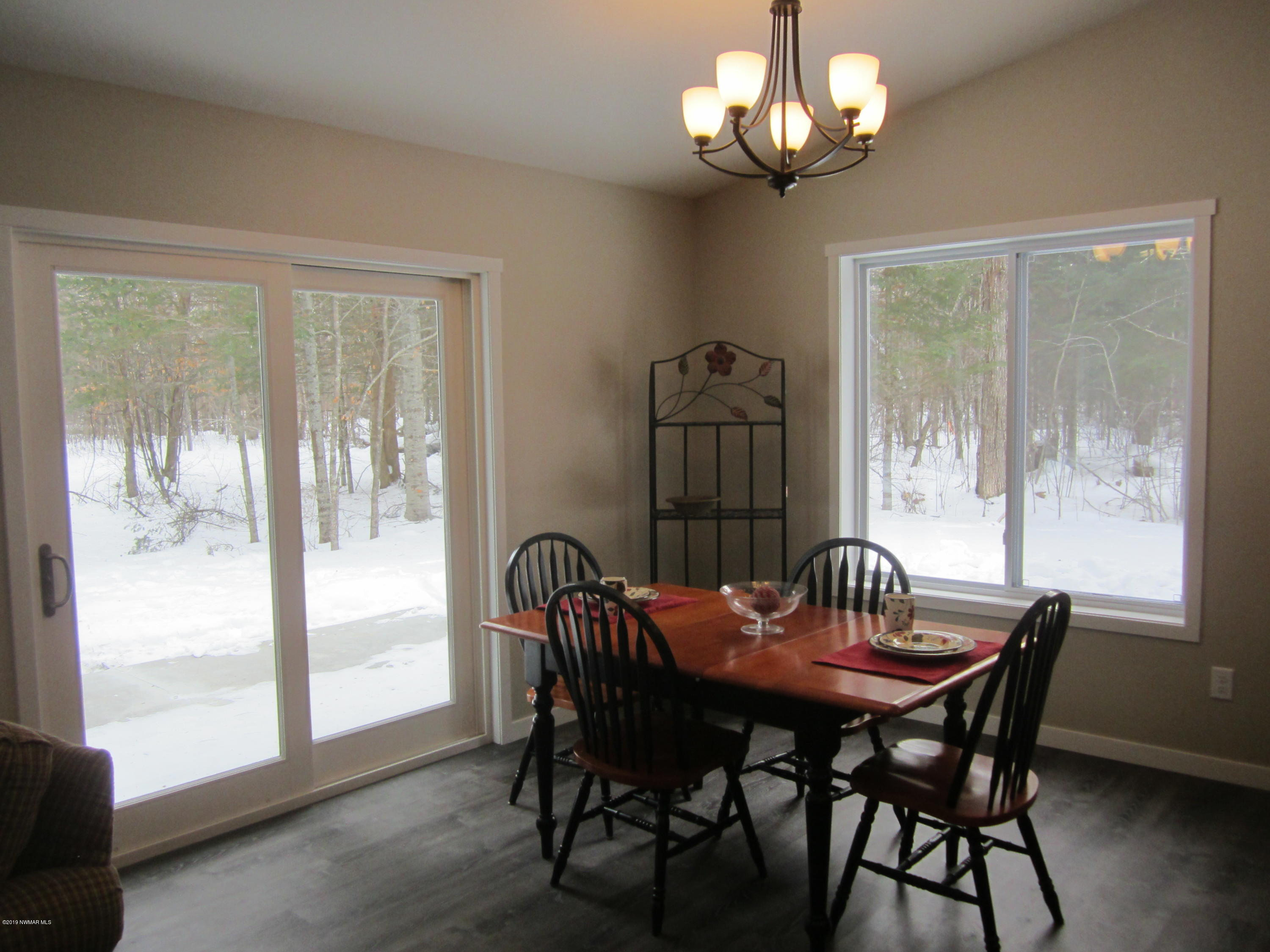 Dining room with a view!