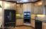 Stainless steel appliances and enjoy your double oven