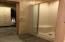 Master Shower and large walk in closet