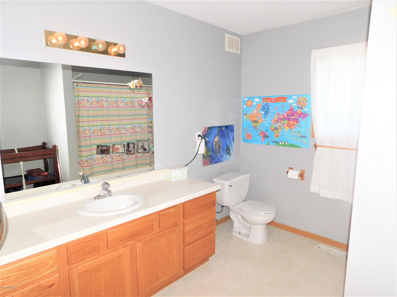2 Full Bathrooms. This is the main floor bathroom.