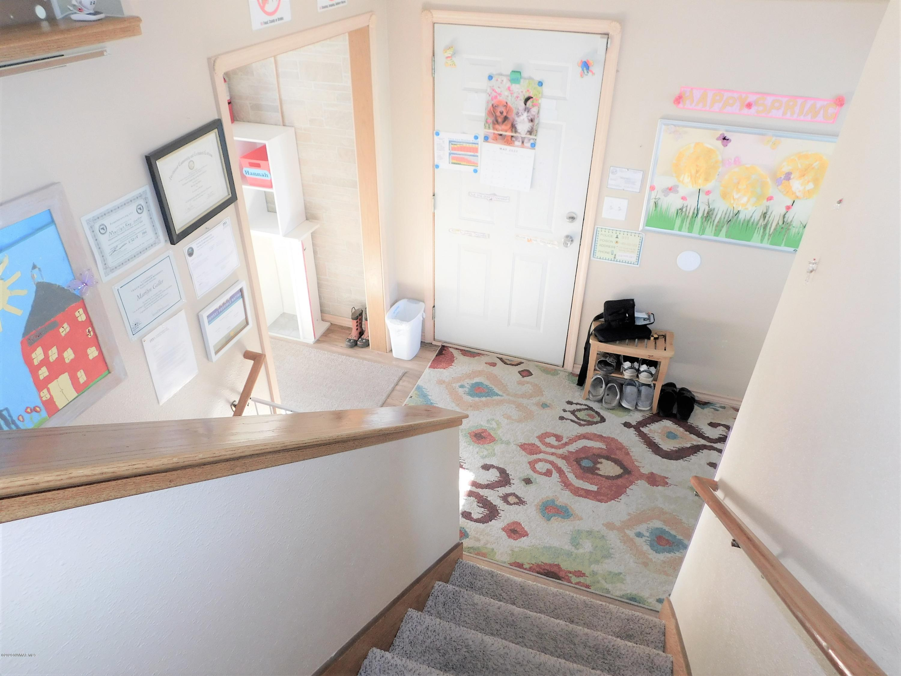 The Entry Way/Mudroom Welcomes your visitors