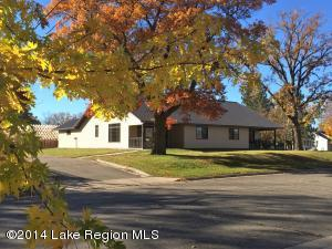 Spacious 2 bedroom, 1 bathroom twin home offers the convenience of living in town.