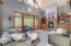 Great Room / Wood Fireplace