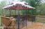 gazebo in the front porch
