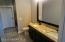 Granite Counter - Cherry Cabinets